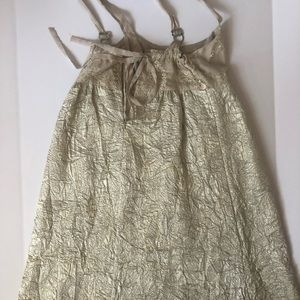 Anthropologie Dresses - Belle Gown Silk Dress